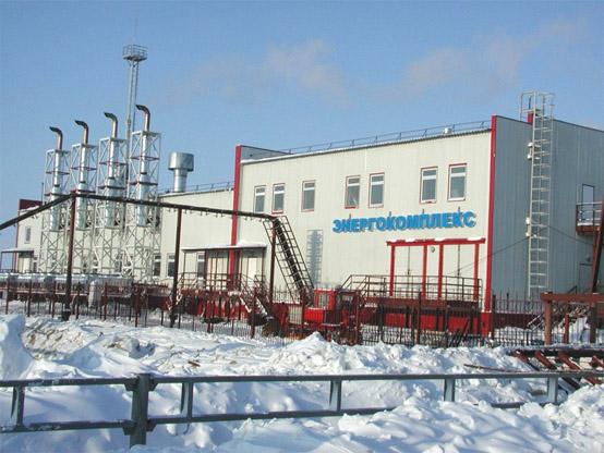 Энергетический комплекс Самбургского месторождения, включающий пять ГПУ GE Jenbaher JMS 620GS мощностью по 3048 кВт
